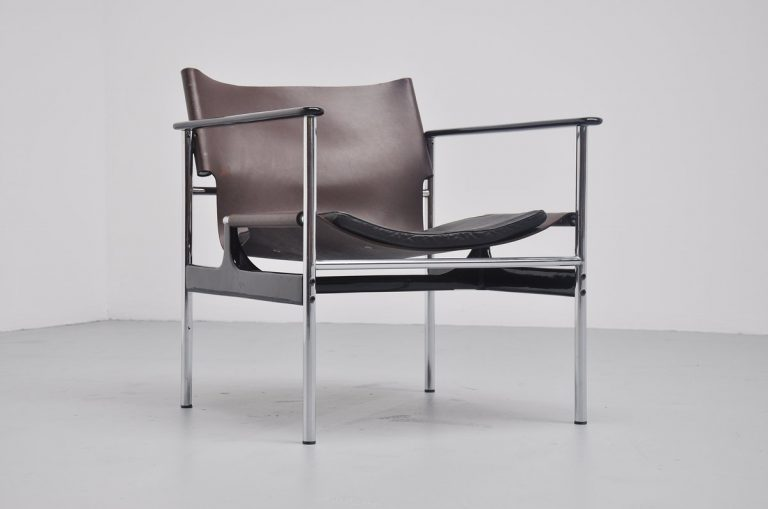Charles Pollock lounge chair Model 657 for Knoll 1965