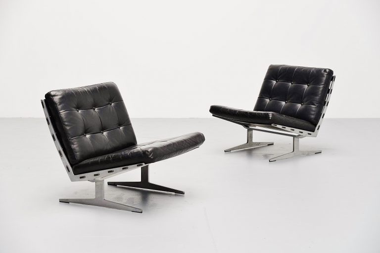 Paul Leidersdorff lounge chair pair Denmark 1965