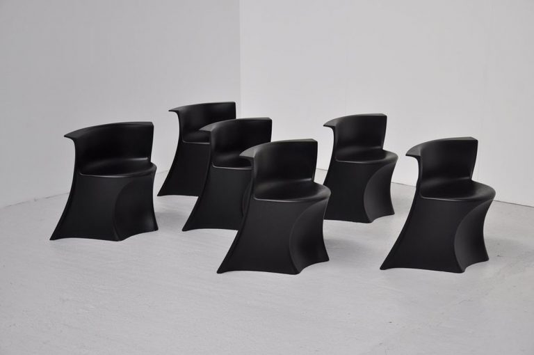 Pierluigi Spadolini Permaflex chairs 1971