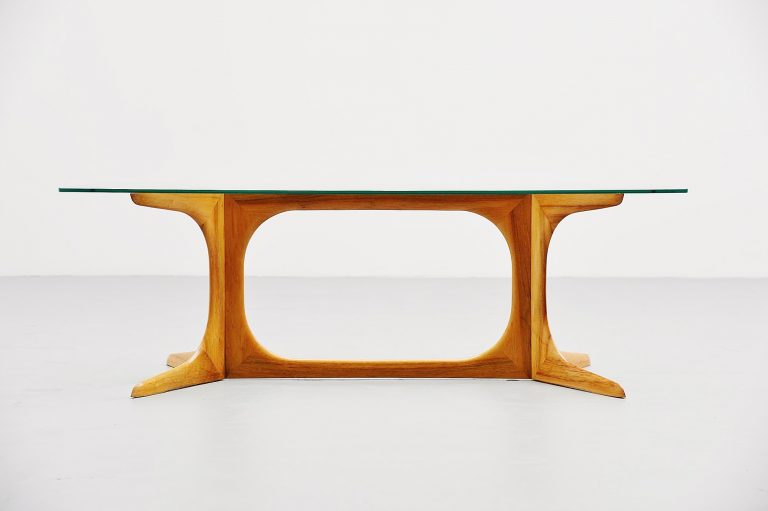 Ico e Luisa Parisi attributed coffee table Como Italy 1950