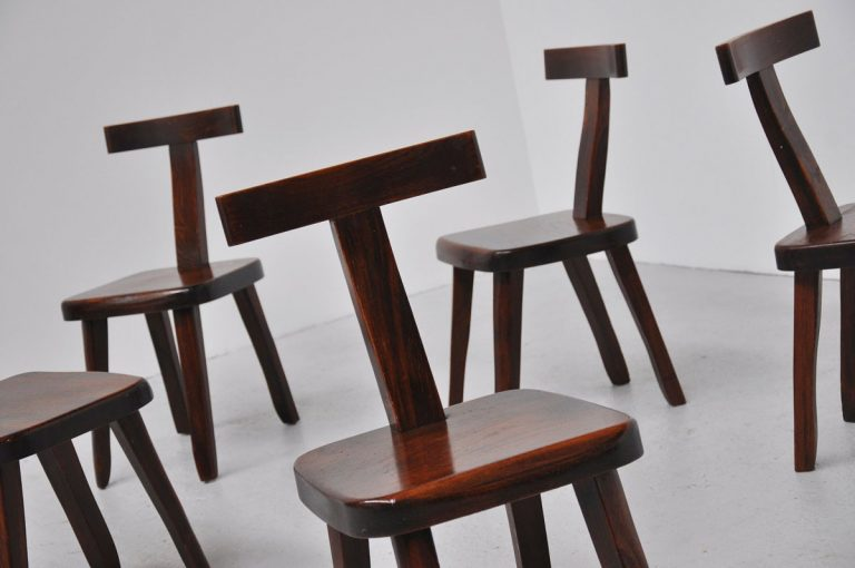 Olavi Hanninen side chairs Finland 1959