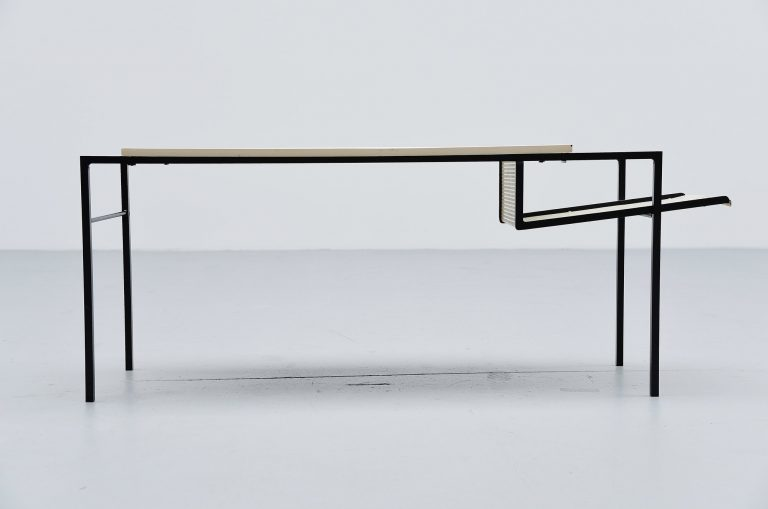 Floris Fiedeldij magazine table Artimeta Soest Holland 1955