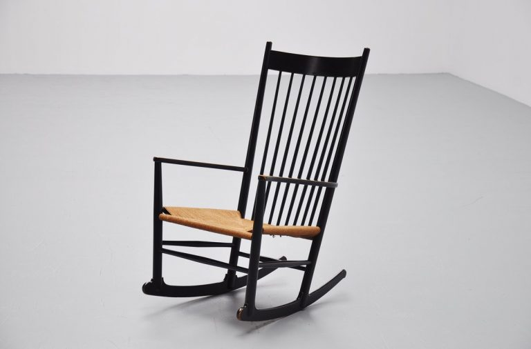 Hans Wegner J16 rocking chair for FDB Mobler, Denmark 1962