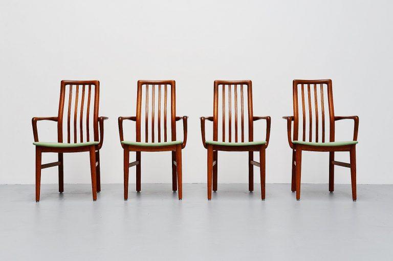 Niels Koefoed armchairs Denmark 1960