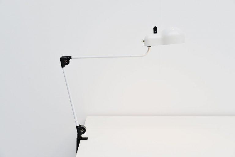 Joe Colombo Topo clamp desk lamp Stilnovo 1969