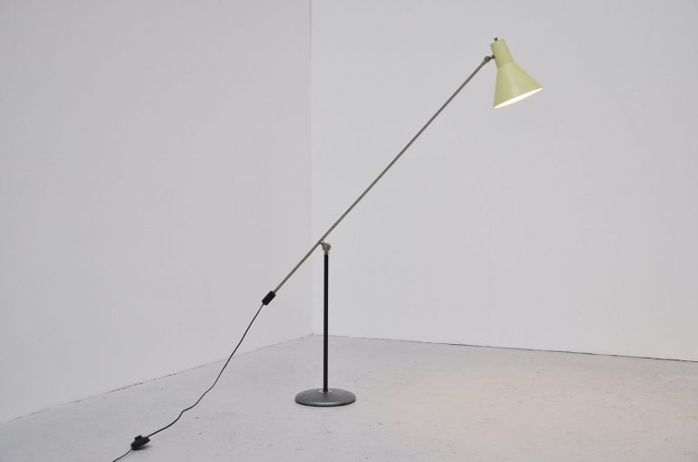 Artimeta counter balance floor lamp 1960