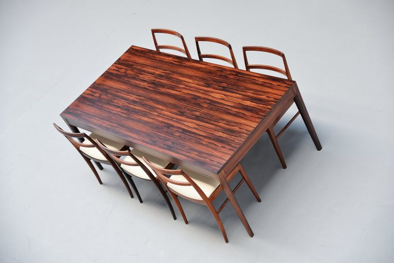 Finn Juhl diplomat dining table France & Son Denmark 1962