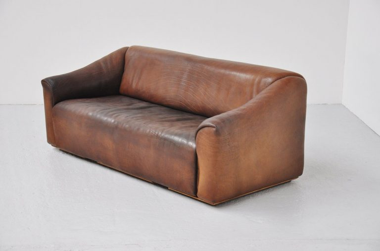 De Sede DS 47 3 seater sofa in Bullhide 1970