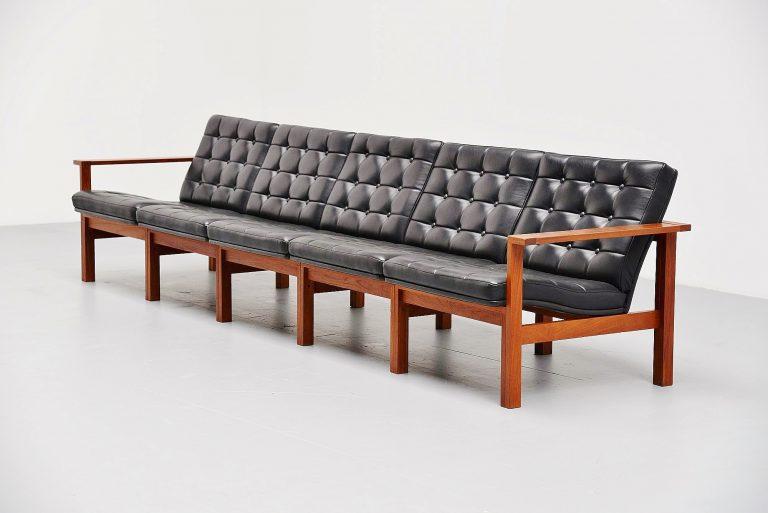 Ole Gjerlov Knudsen & Torben Lind moduline sofa France & Son