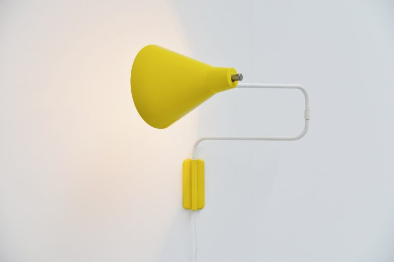 Willem hagoort swing arm wall lamp Holland 1950