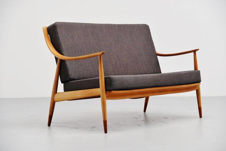 Peter Hvidt & Orla Molgaard Nielsen lounge sofa 1953