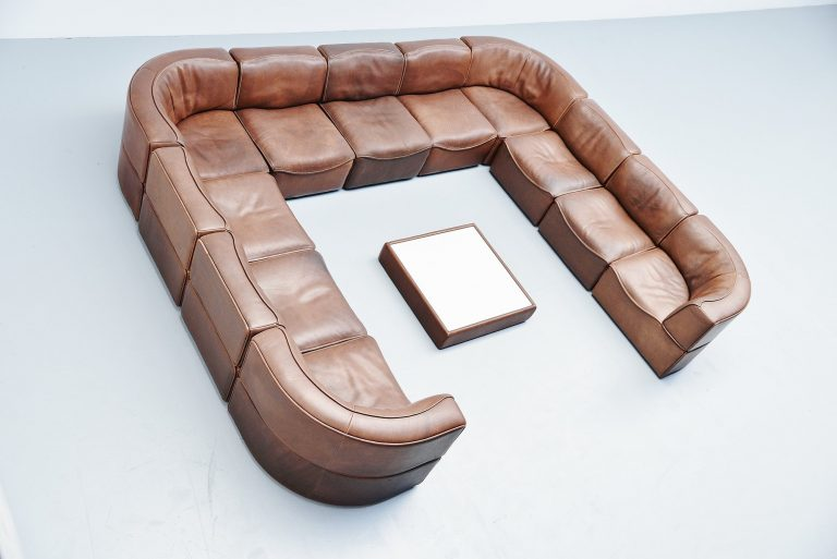 DS15 De Sede modular sofa XXL Switzerland 1970