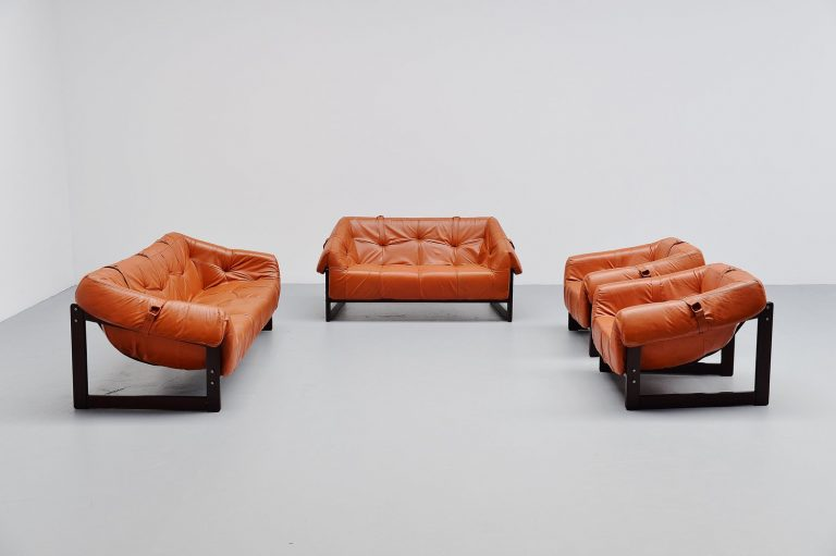 Percival Lafer lounge sofa set Brazil 1960