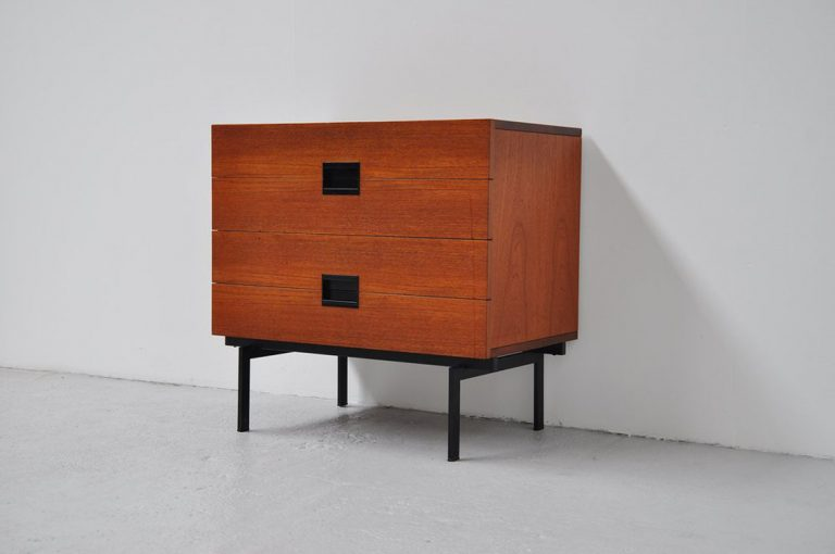 Pastoe Japanese series drawers Cees Braakman 1958
