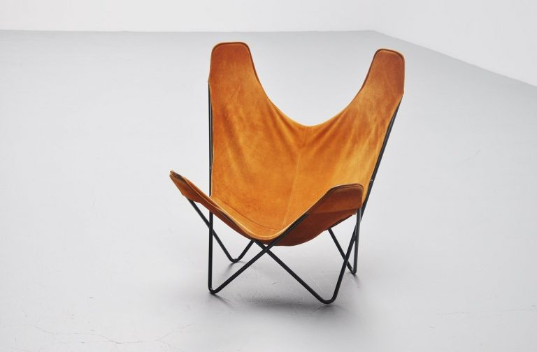 Jorge Hardoy Ferrari Butterfly chair for Knoll USA 1970