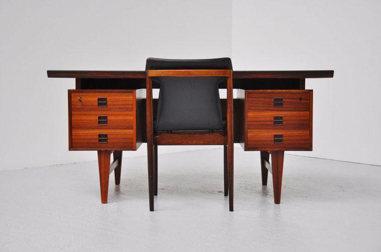 Kai Kristiansen rosewood desk 1960