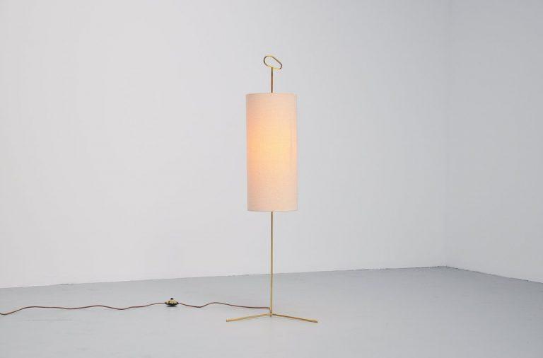 Wiener Werkstatte floor lamp Austria 1950