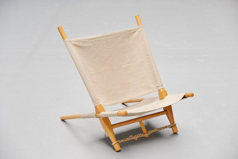 Ole Gjerlov Knudsen saw lounge chair Cado Denmark 1958