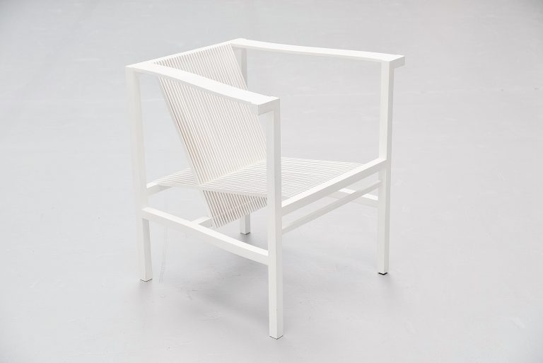 Ruud Jan Kokke high slat chair Metaform 1984