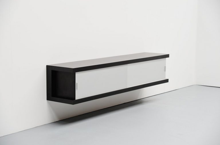 Horst Brüning floating sideboard Behr Germany 1967