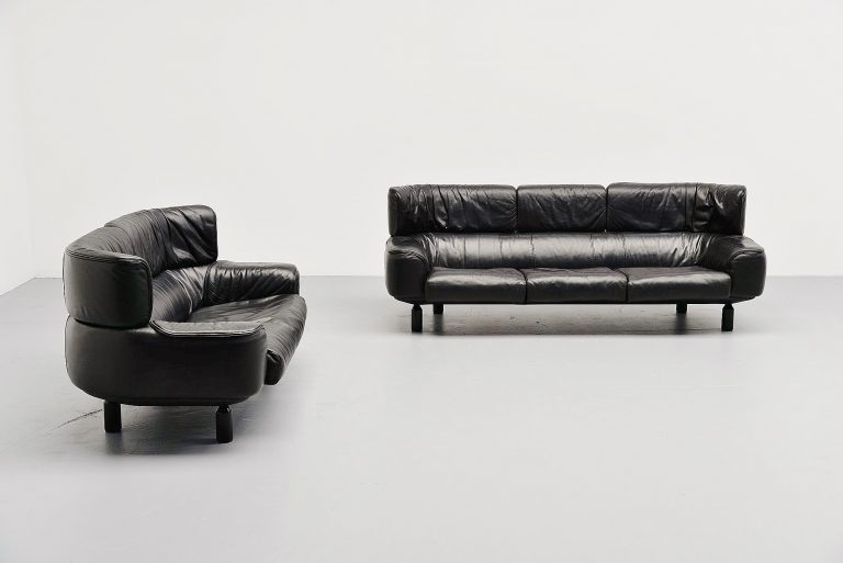 Gianfranco Frattini Bull sofa set Cassina Italy 1987