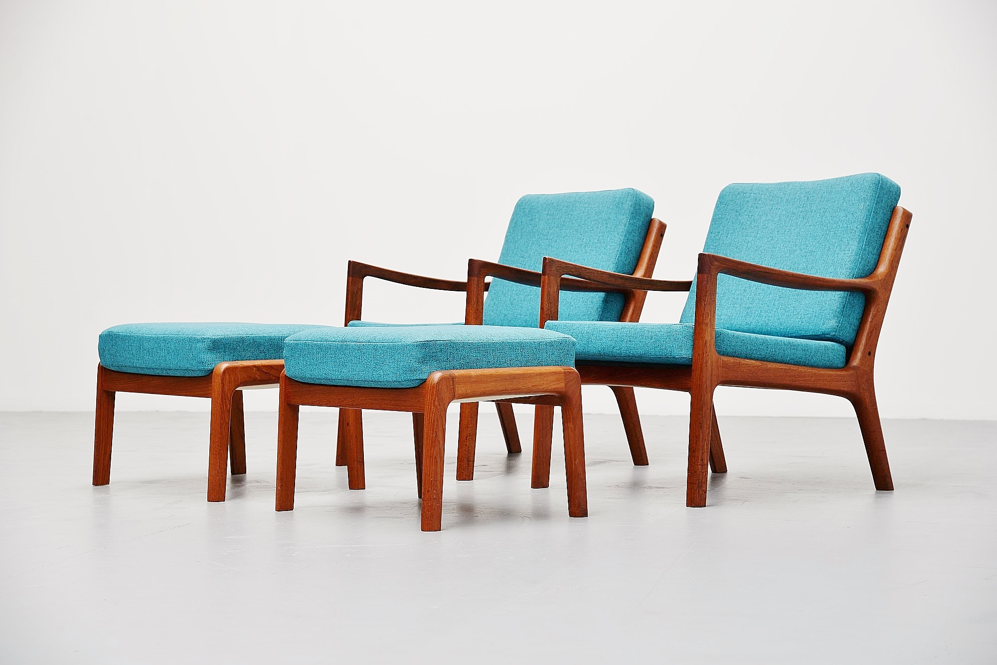 Astounding Ole Wanscher Senator Chairs Set France Son 1951 Gmtry Best Dining Table And Chair Ideas Images Gmtryco