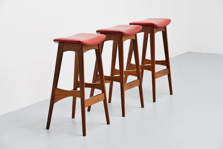 Johannes Andersen bar stools Denmark 1961