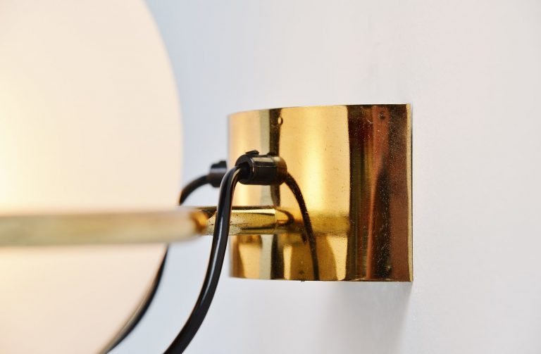 Gino Sarfatti wall lamp model 238/2 for Arteluce 1960