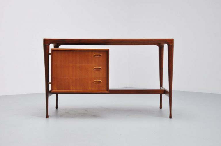 Organic Danish teak writing desk 1960