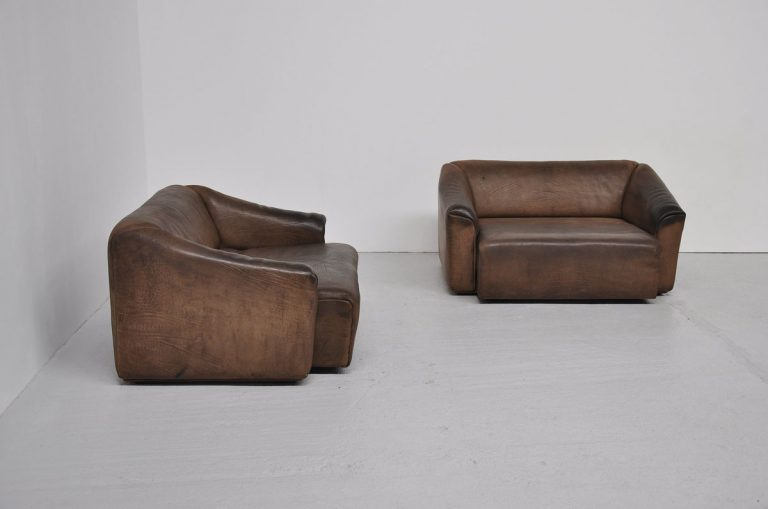 De Sede DS 47 sofa pair 1970