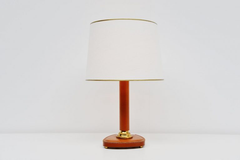 Jacques Adnet style table lamp France 1970
