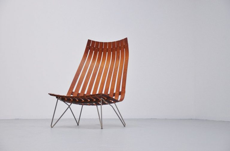 Hans Brattrud Scandia lounge chair Hove Mobler 1957