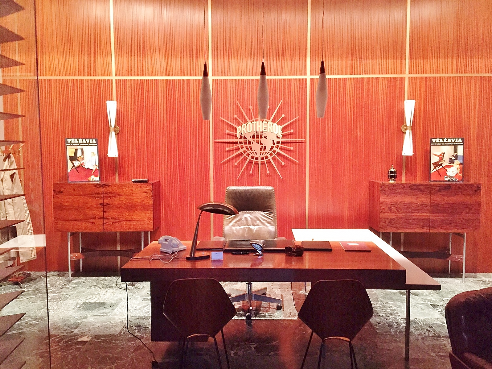Movie Setting For 1950 S Tv Series In Office Decor