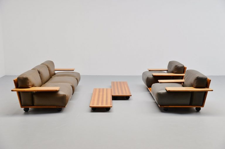 Mario Bellini Pianura seating group Cassina 1971