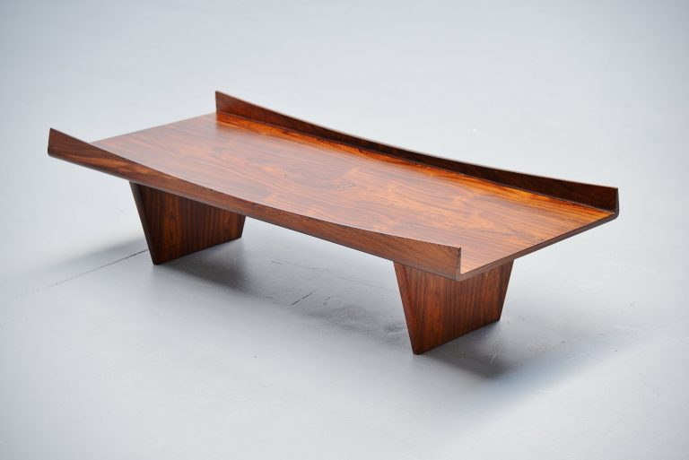 Jorge Zalszupin attributed coffee table Brazil 1960