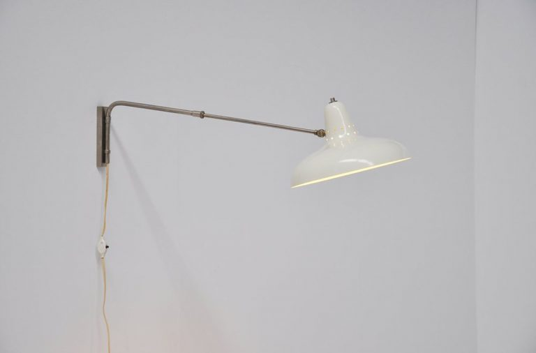 H Fillekes Artiforte wall lamp 1958