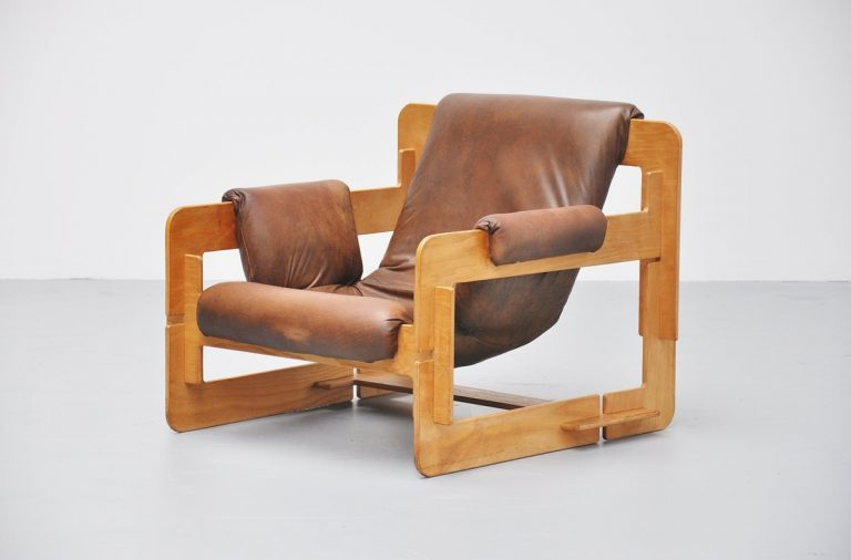 Arne Jacobsen plywood lounge chair for Asko Finland 1970