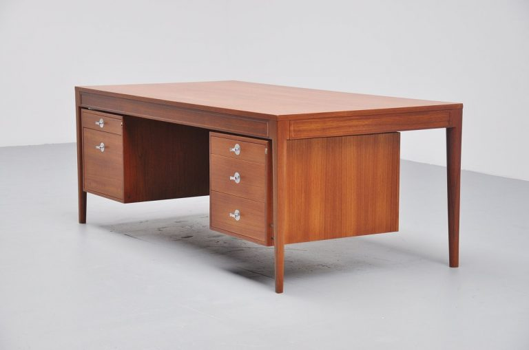 Finn Juhl Diplomat desk for France & Son Denmark 1958