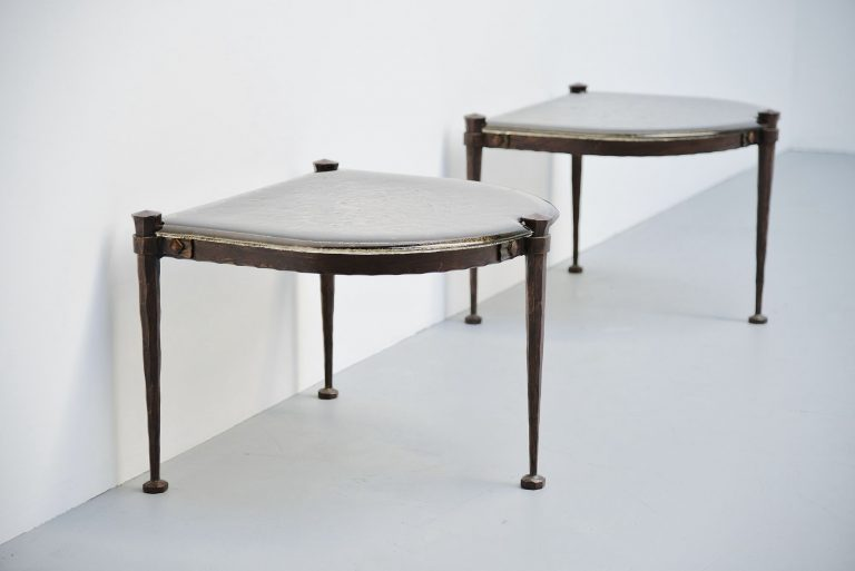 Lothar Klute side tables Germany 1970