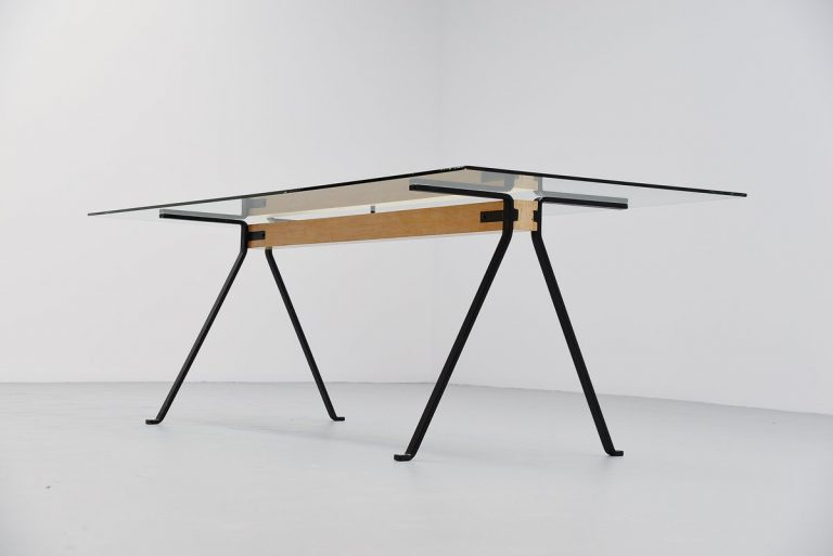 Enzo Mari Frate dining table for Driade 1973