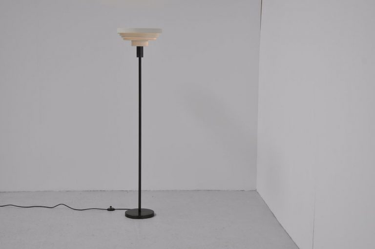 Danish floor lamp in the manner of Alvar Aalto 1960