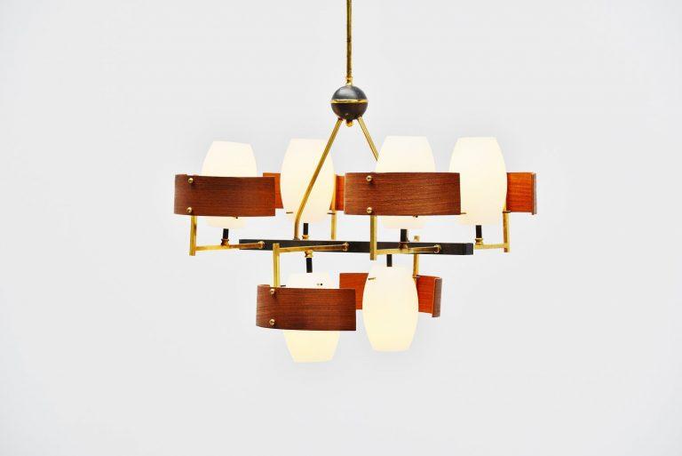 Studio Reggiani chandelier Italy 1955
