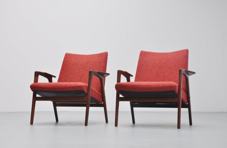 Yngve Ekstrom Ruster chairs for Pastoe 1960