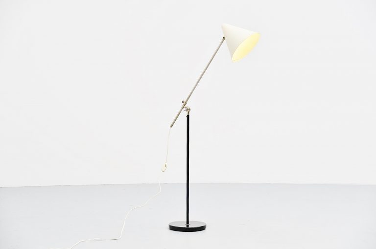 Floris Fiedeldij Artimeta reading lamp Holland 1960