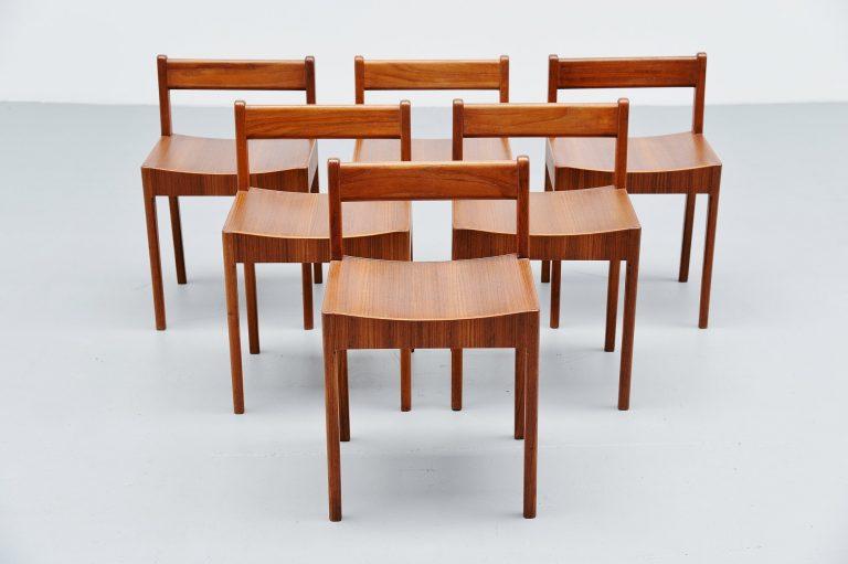 Breakfast chairs by Plyfa Denmark 1960