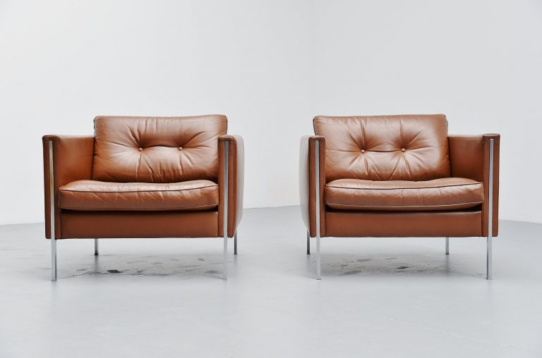 Pierre Paulin 442 lounge chairs Artifort 1962