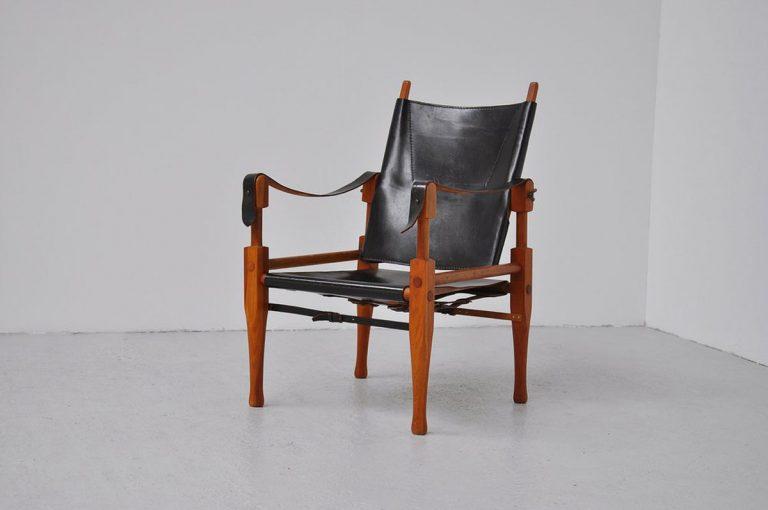 Wilhelm Kienzle safari chair Wohnbedarf 1928