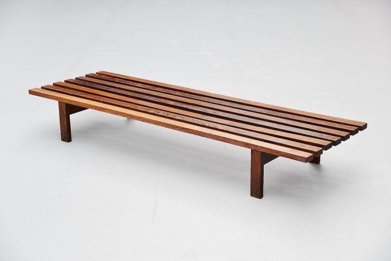 Martin Visser BZ82 slat bench 't Spectrum 1965