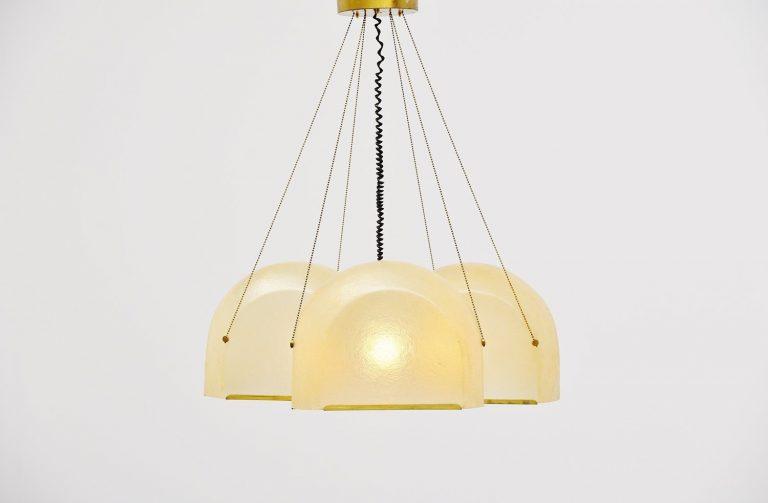 Salvatore Gregorietti Tricia ceiling fixture Lamperti 1965