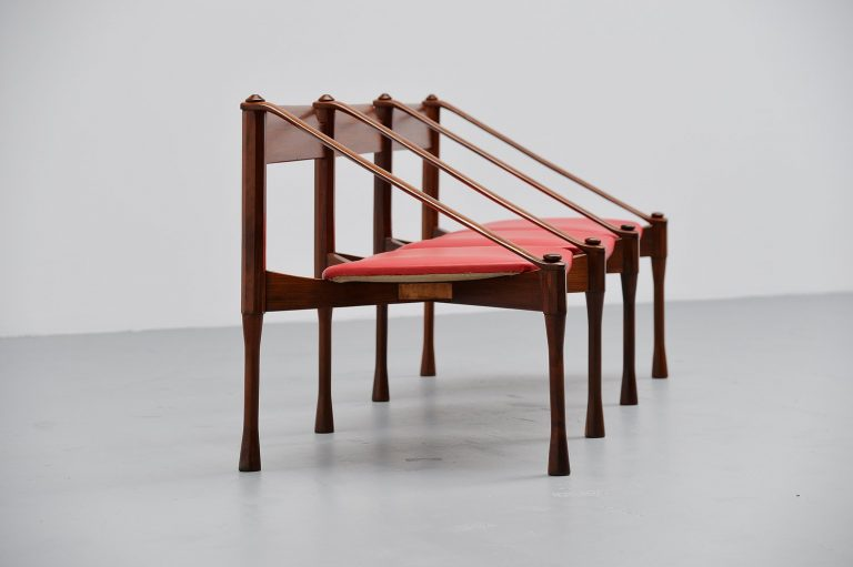 Giulio Moscatelli lounge bench Italy 1950